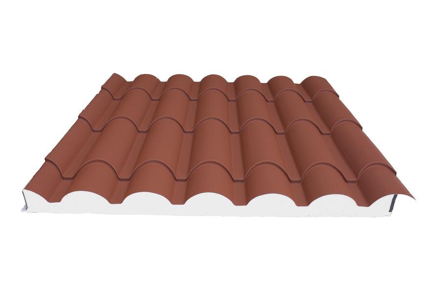 Ondumet reparaci n e instalacion cubiertas valencia for Chapa imitacion teja sin aislamiento